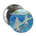 "Golden Gate San Francisco 2.25"" Button (100 pack)"