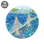 "Golden Gate San Francisco 3.5"" Button (10 pack)"