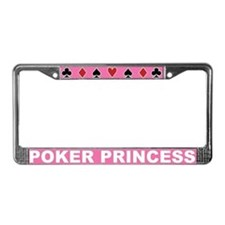 Cute Diamonds License Plate Frame