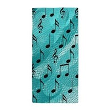 Music notes Beach Towel
