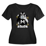 Barnhouse Family Crest Women's Plus Size Scoop Nec
