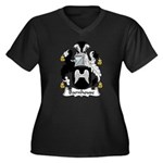 Barnhouse Family Crest Women's Plus Size V-Neck Da