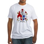Barney Family Crest Fitted T-Shirt