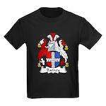 Barney Family Crest Kids Dark T-Shirt