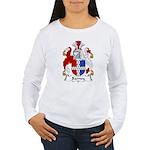 Barney Family Crest Women's Long Sleeve T-Shirt