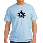 Obey the Frenchie! Star Icon Light T-Shirt