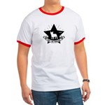 Obey the Frenchie! Star Icon Ringer T