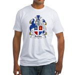 Barnes Family Crest Fitted T-Shirt
