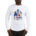 Barnes Family Crest Long Sleeve T-Shirt