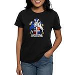 Barnes Family Crest Women's Dark T-Shirt