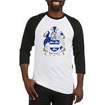 Barnard Family Crest Baseball Jersey