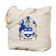 Barnard Family Crest Tote Bag