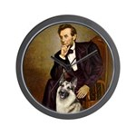 Lincoln's German Shepherd Wall Clock