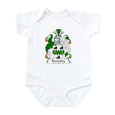 Barnaby Family Crest   Infant Bodysuit
