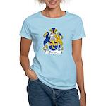 Barker Family Crest Women's Light T-Shirt