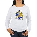 Barker Family Crest Women's Long Sleeve T-Shirt