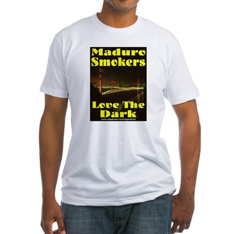 Maduro Smokers Cigar Fitted T-Shirt