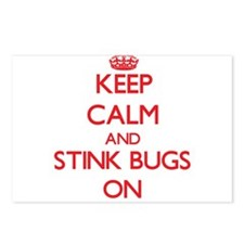 Keep Calm and Stink Bugs Postcards (Package of 8)