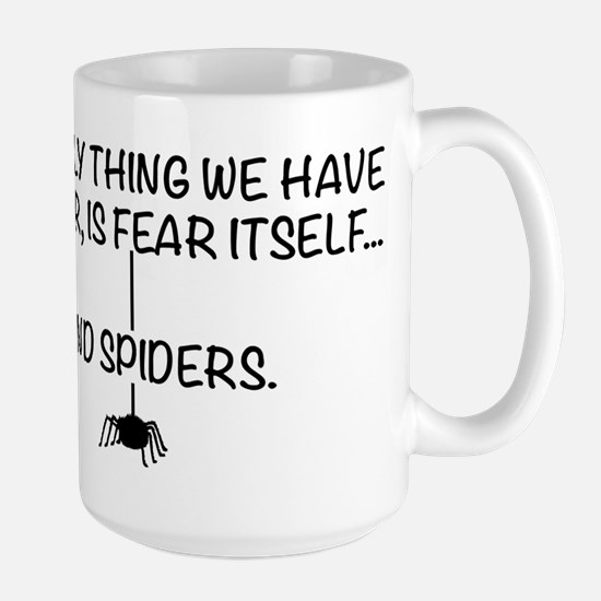 Fear itself and spiders Stainless Steel Travel Mug