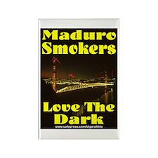Maduro Smokers Cigar Rectangle Magnet
