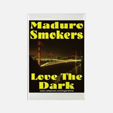 Maduro Smokers Cigar Rectangle Magnet