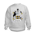 Banning Family Crest  Kids Sweatshirt