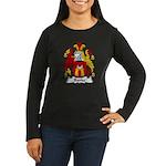 Banke Family Crest Women's Long Sleeve Dark T-Shir