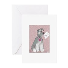 Schnauzer Letter All Occasion Cards (Pk of 20)