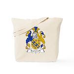 Bancroft Family Crest Tote Bag