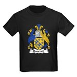 Bancroft Family Crest Kids Dark T-Shirt
