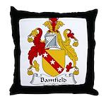 Bamfield Family Crest  Throw Pillow