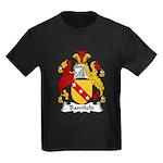 Bamfield Family Crest  Kids Dark T-Shirt