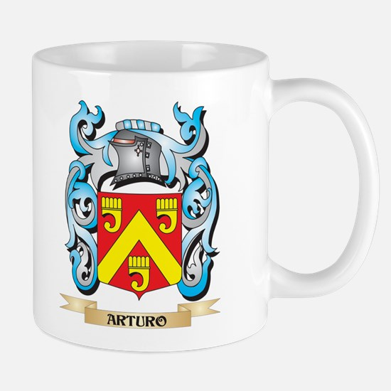 Arturo Coat of Arms - Family Crest Mugs
