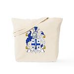 Ballentine Family Crest Tote Bag