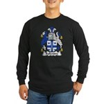 Ballentine Family Crest Long Sleeve Dark T-Shirt
