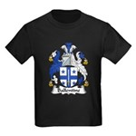 Ballentine Family Crest Kids Dark T-Shirt