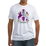 Balderston Family Crest Fitted T-Shirt
