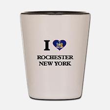 I love Rochester New York Shot Glass