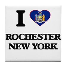 I love Rochester New York Tile Coaster