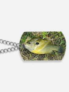 Greeny. Fish Retro Tuna RCM Wild Wow  Dog Tags