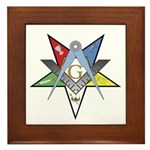 OES Past Patron Framed Tile