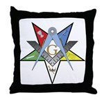 OES Past Patron Throw Pillow