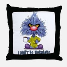 Zoink Morinings Throw Pillow