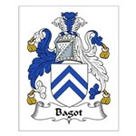 Bagot Family Crest Small Poster