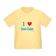 Jewish I Love Raisin Challah T