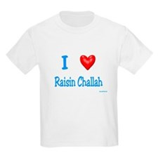 Jewish I Love Raisin Challah T-Shirt