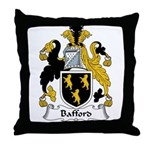 Bafford Family Crest Throw Pillow