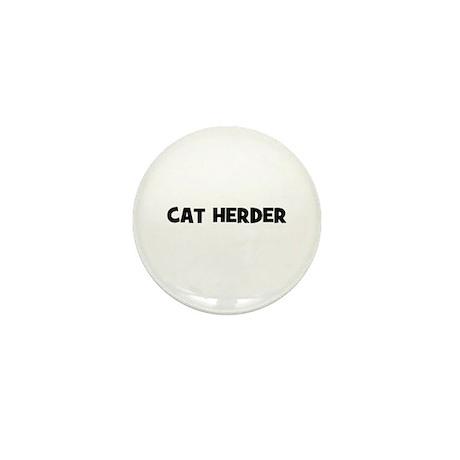 cat herder Mini Button
