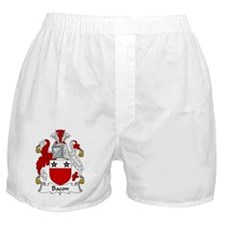 Bacon Family Crest Boxer Shorts
