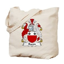 Bacon Family Crest Tote Bag